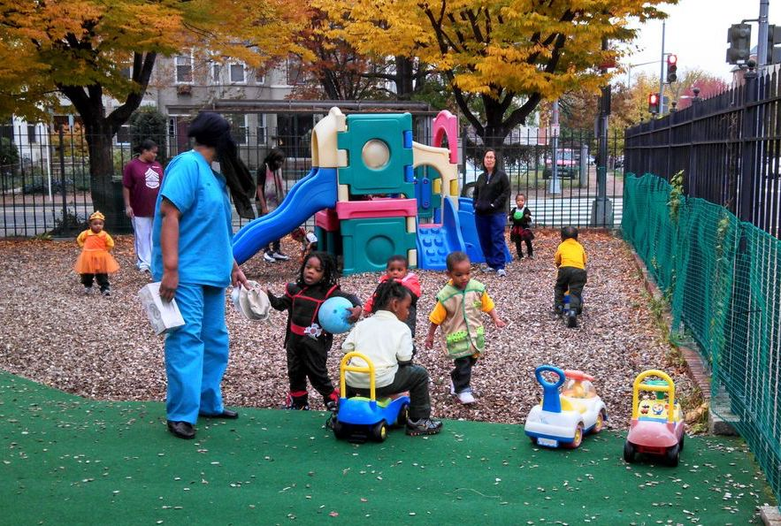 Our Playground Invites Everyday Outdoor Discovery - Preschool & Daycare Serving Washington, DC